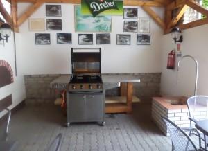 Napfény panzió grill és bogrács helyiség